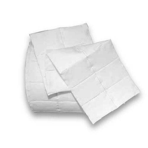 Cuadraditos de celulosa 4x5 cm. en bolsas de 1x500 unidades y 2x500 unidades