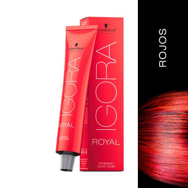 schwarzkopf igora royal Rojos