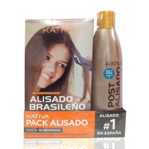 Kativa alisado brasileño pack