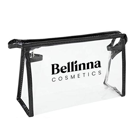 Neceser transaparente de Bellinna Cosmetics