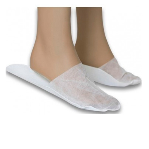 Zapatillas cerradas en tnt individual 50 pares